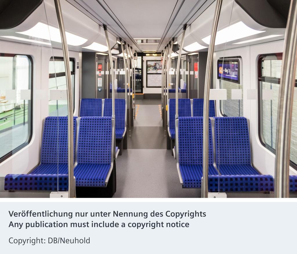 Das 1:1 Wagenmodell der neuen S-Bahn für Berlin und Brandenburg: Die perfekte Simulation im Vier-Wochen-Labortest