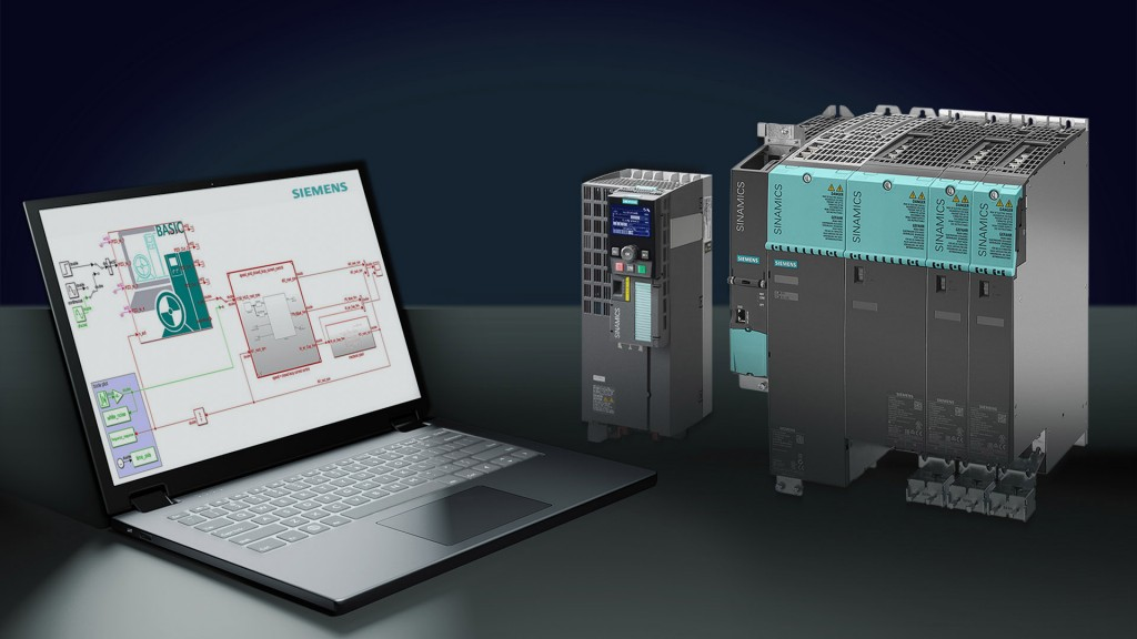 With Sinamics DriveSim Basic, Siemens presents a new software solution with which for the first-time drive constellations and their behavior in machines and plants can be simulated, adapted, and optimized.