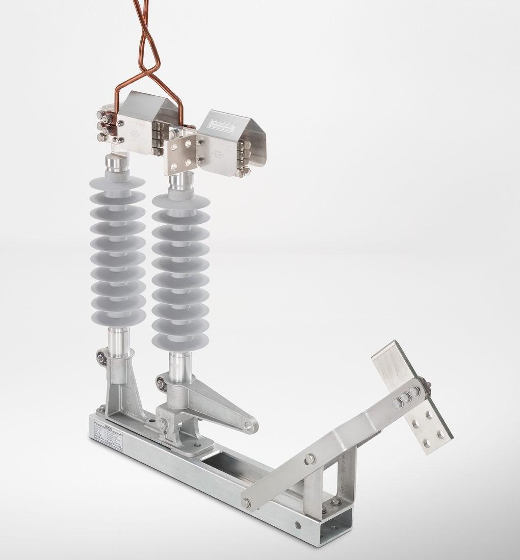 Desconectores Sicat 8WL6144 até 25 kV CA da Siemens.