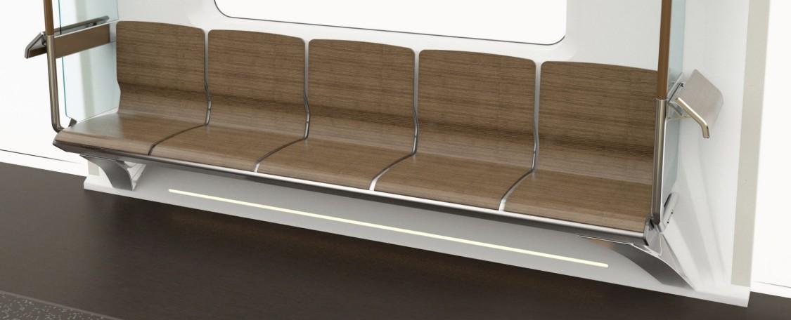 Możliwość wzdłużnego, poprzecznego lub mieszanego rozmieszczenia foteli