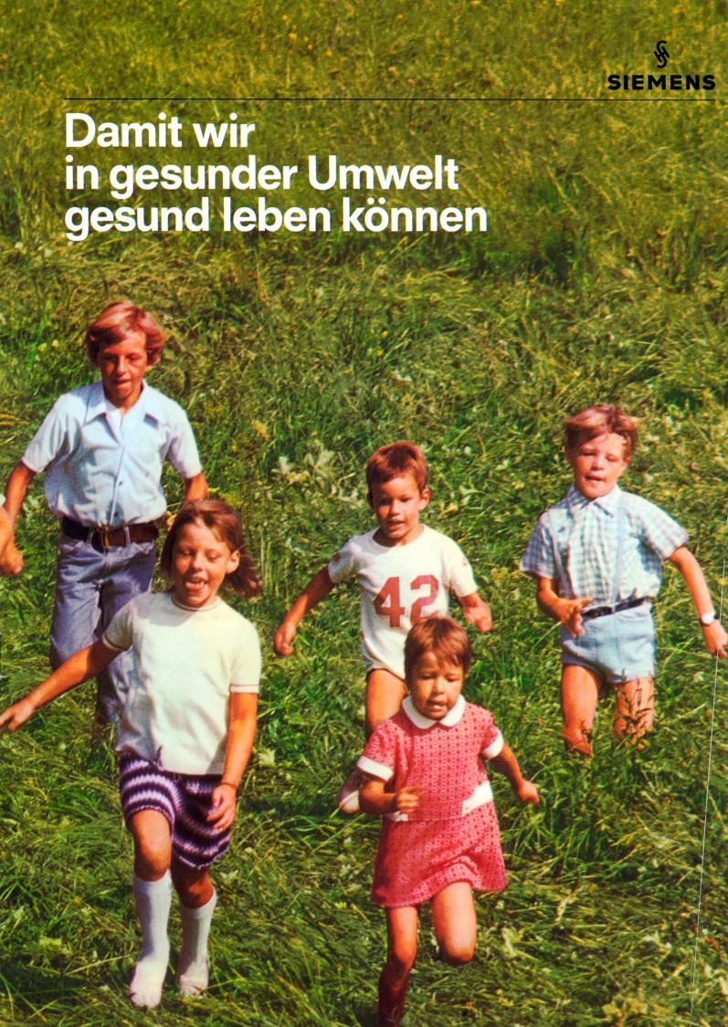 Titelblatt einer Druckschrift von Siemens, 1971