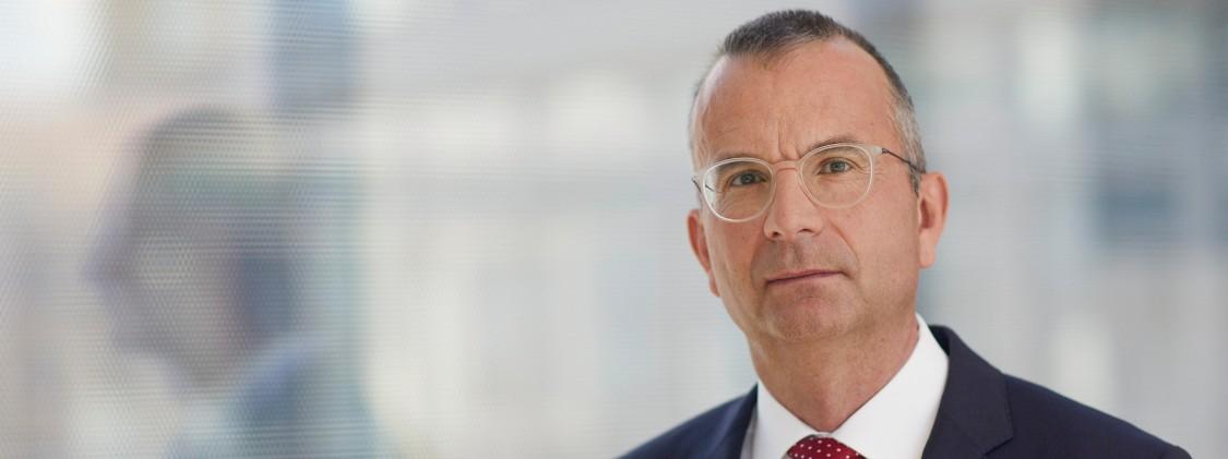 Beat Weibel, head of Siemens' patent department