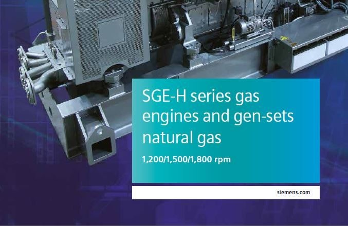 宣传册 - SGE-H 系列发动机(天然气)