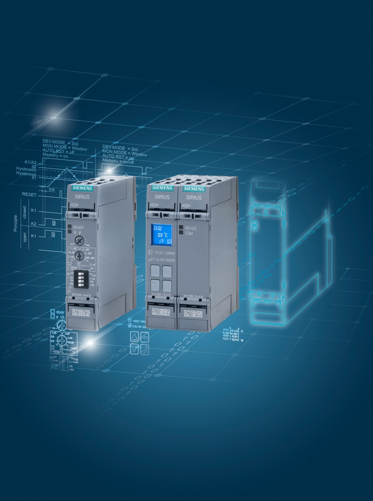 New Sirius temperature monitoring relays offer more functions in less space