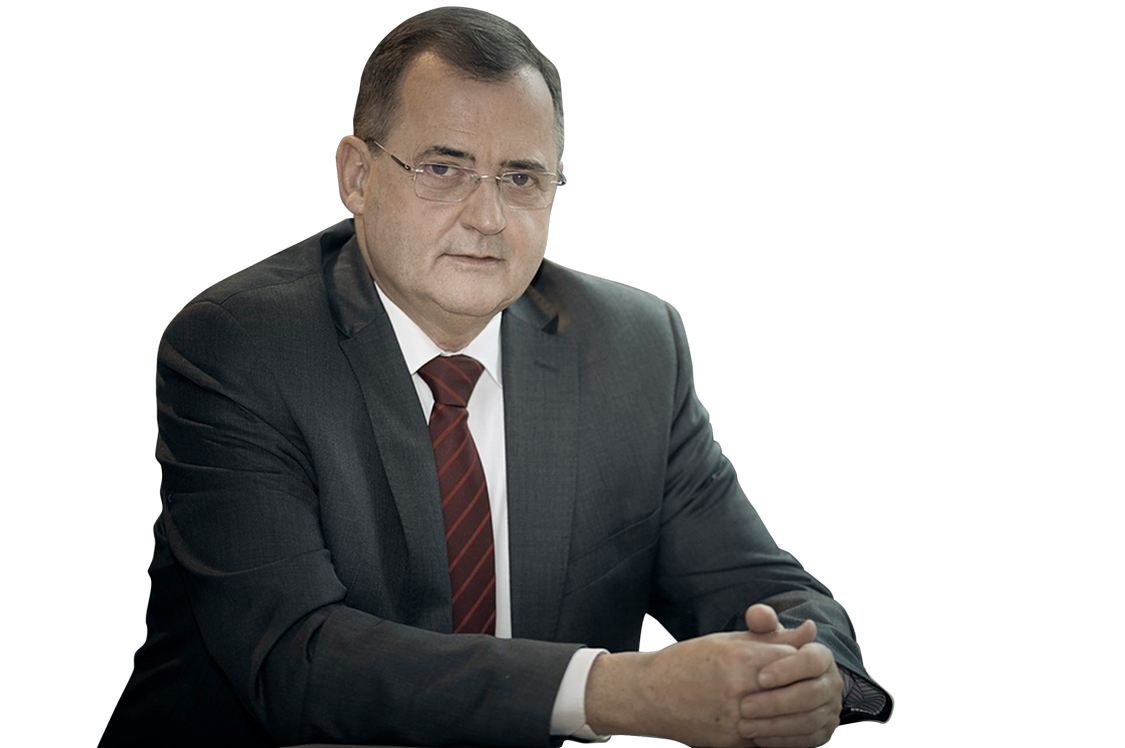 Na zdjęciu widnieje ekspert wypowiadający się w kontekście przygotowanego przez Siemensa raportu Digi Index 2021 - Andrzej Soldaty