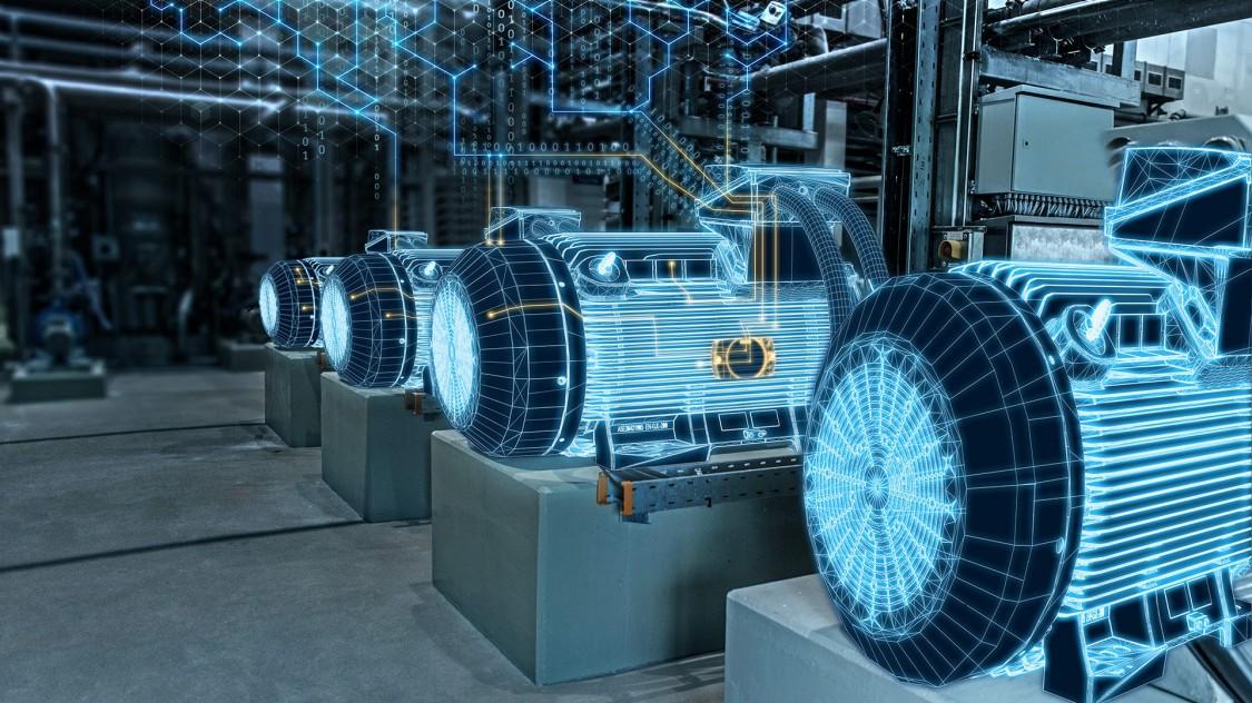 Bild von einer digitalisierten Antriebstechnik