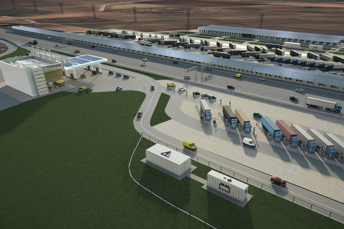 A new area of sustainable road freight transport