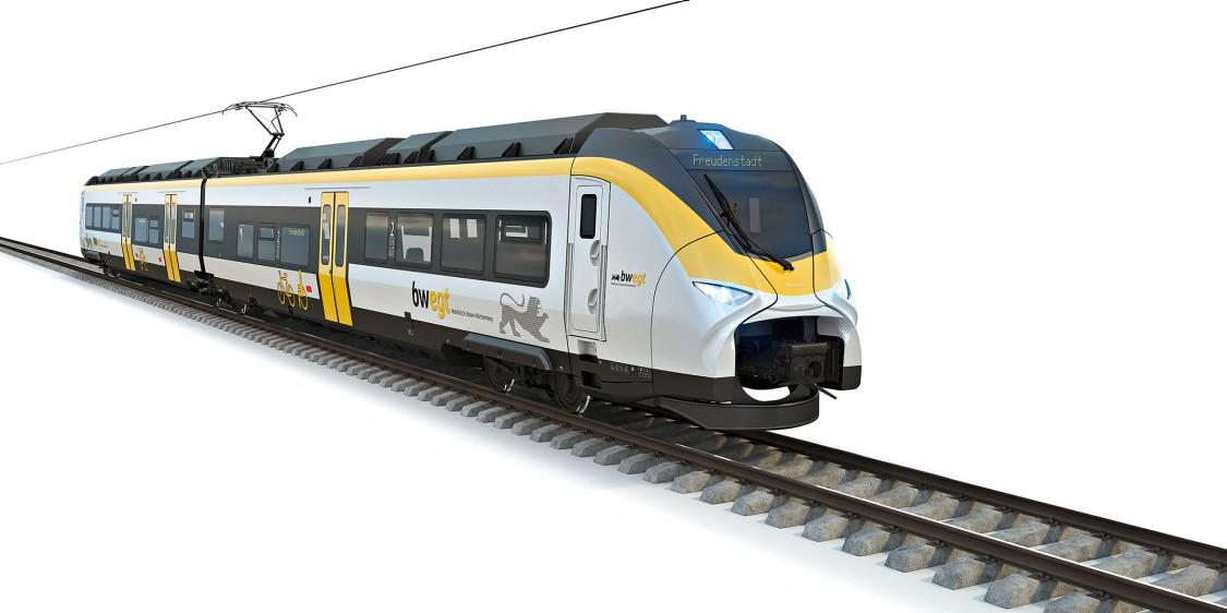 A Siemens Mobility megkapta az első megrendelést akkumulátoros vonatra