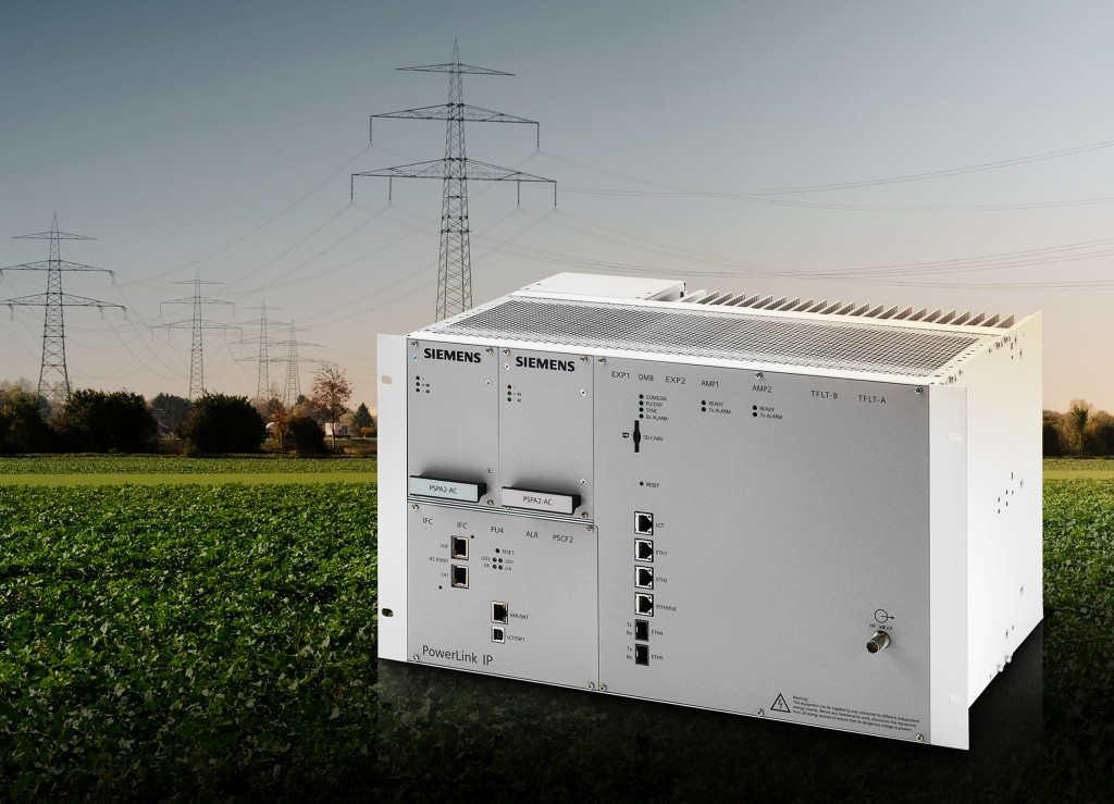 Siemens introduces a new power line carrier system for digital high-voltage substations