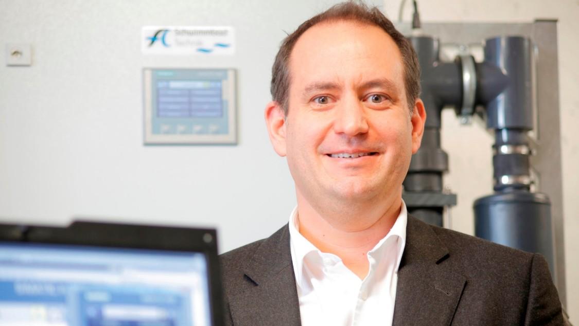 Markus Achermann, Managing Director, AC Schwimmbadtechnik AG