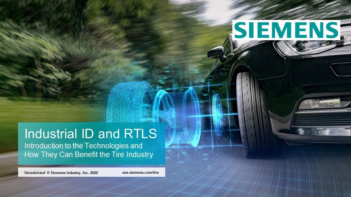 The tire industry is facing many challenges in today's global marketplace. Gain an understanding of RFID and RTLS technologies and how they can be used in tire manufacturing operations.