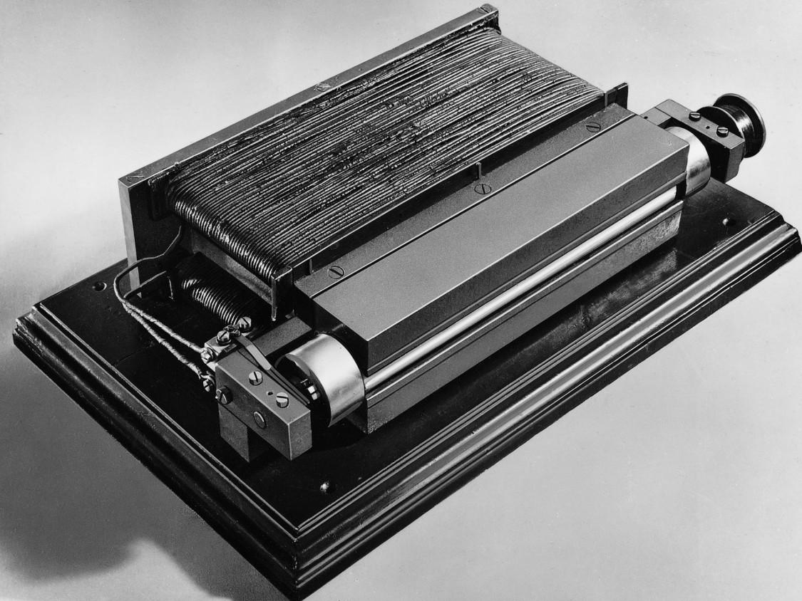 Dynamomaschine von Werner von Siemens, 1866