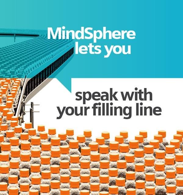 MindSphere позволяет вам общаться с вашей линией розлива