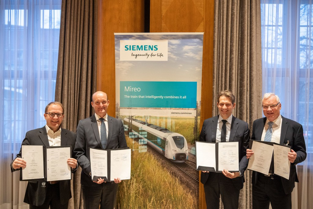 Siemens Mobility builds regional trains for the Lausitz