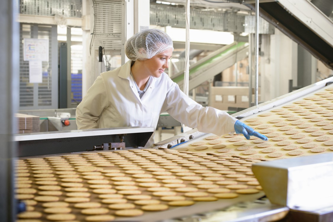 Siemens bakery and confectionary production