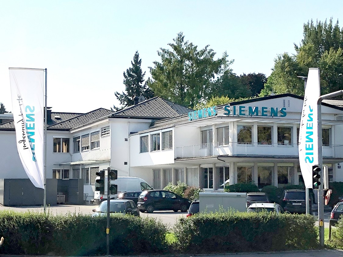 Die Siemens Niederlassung Bregenz