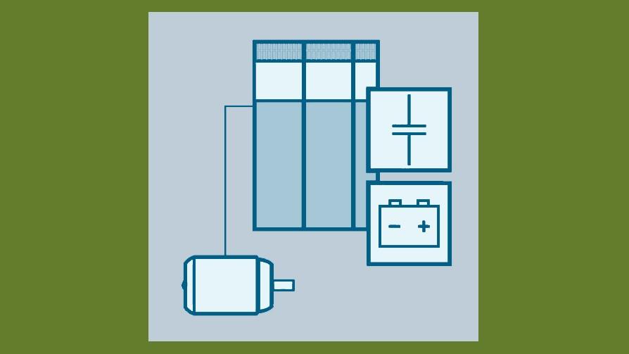 drives energy efficiency - electrical energy buffering