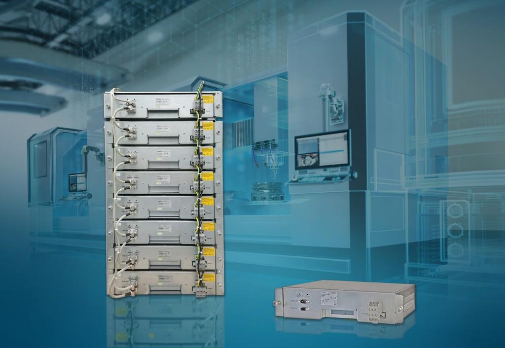 UltraCap modules van Siemens voor efficiënte energieopslag in machines