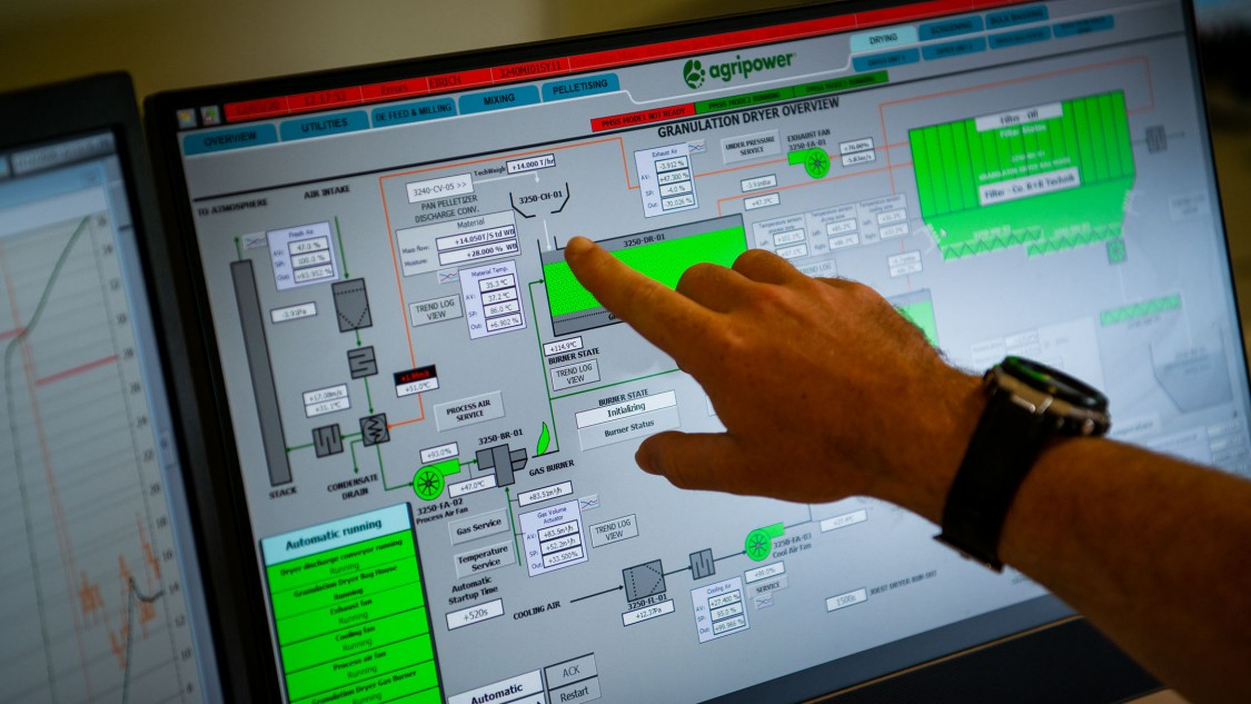 Agripower uses Siemens software