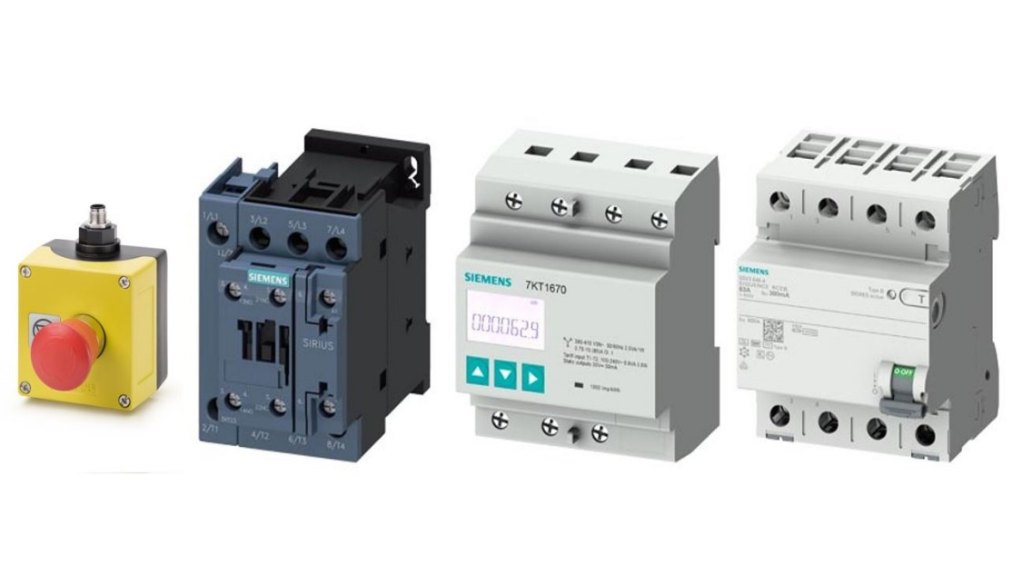 Picture electrical products SIRIUS and SENTRON