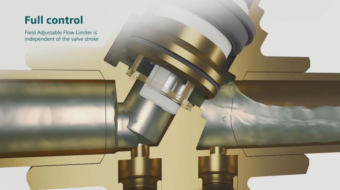 Cutaway graphic of Siemens PIC valve