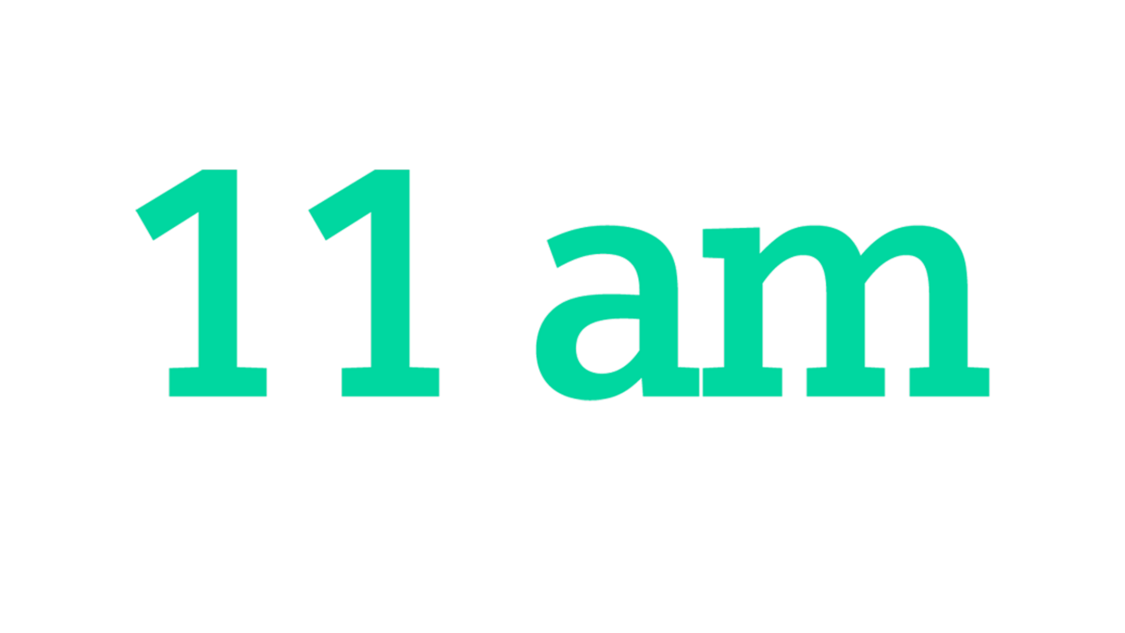 11 am