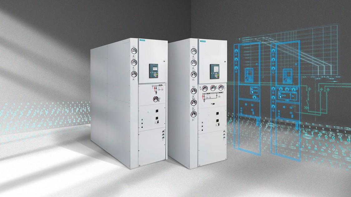Комплектна розподільна установка з газовою ізоляцією середньої напруги типу 8DA/B — модульна конструкція