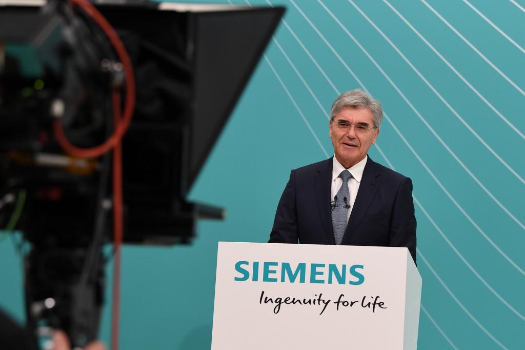 Außerordentliche Hauptversammlung der Siemens AG 2020
