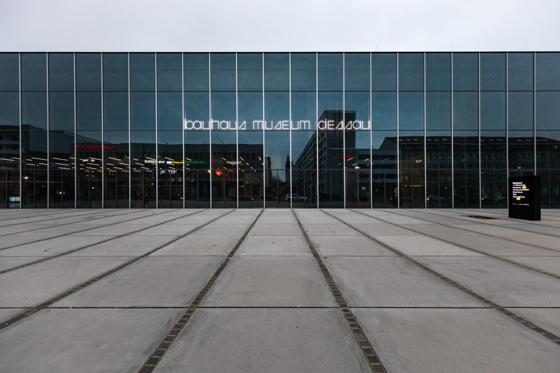 Bauhaus Museum in Dessau, Germany