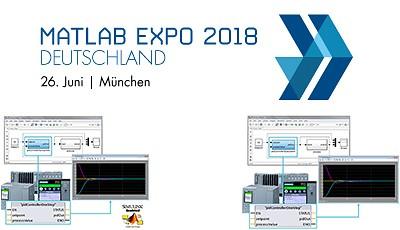 Siemens präsentiert auf der Matlab Expo 2018 in München am 26. Juni mit Simatic Target 1500S V2.0 und Simatic S7 PLCSIM Advanced zwei wesentliche Bestandteile seines Automatisierungsportfolios.