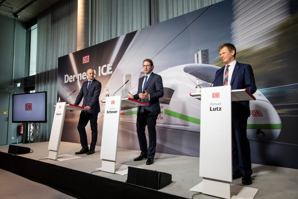 Siemens Mobility awarded billion-euro order for high-speed trains from Deutsche Bahn