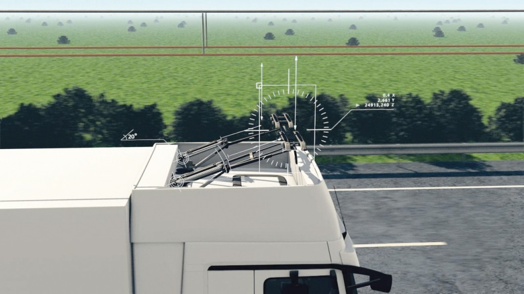 Intelligent pantograph enables full vehicle flexibility