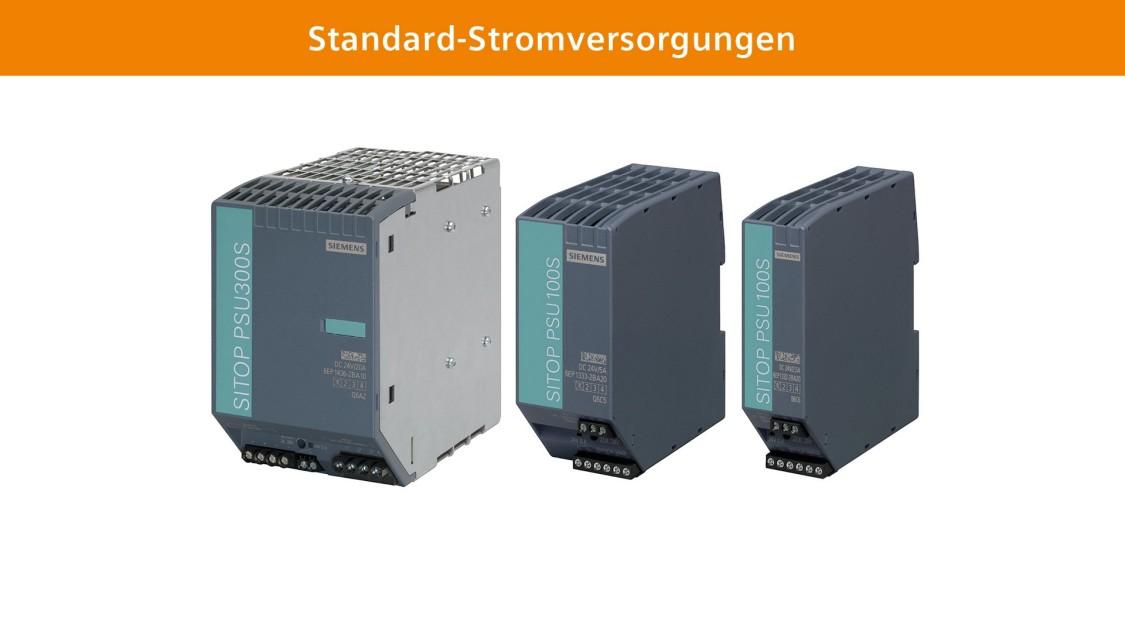 Standard-Stromversorgungen SITOP smart