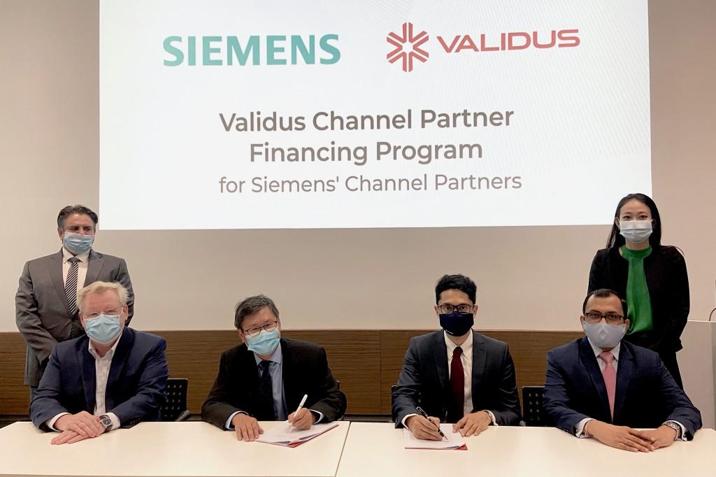Validus and Siemens Financing Program