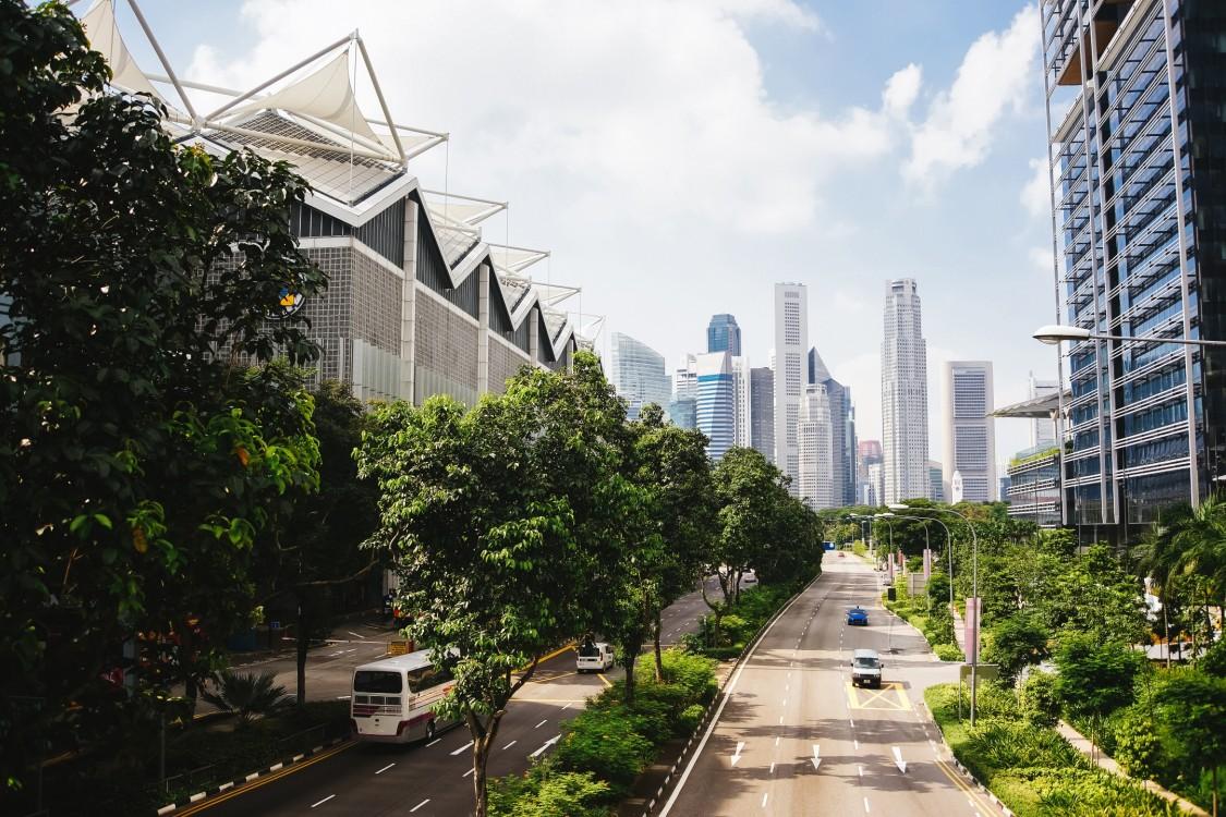 Bürogebäude stehen an der Spitze der Innovation