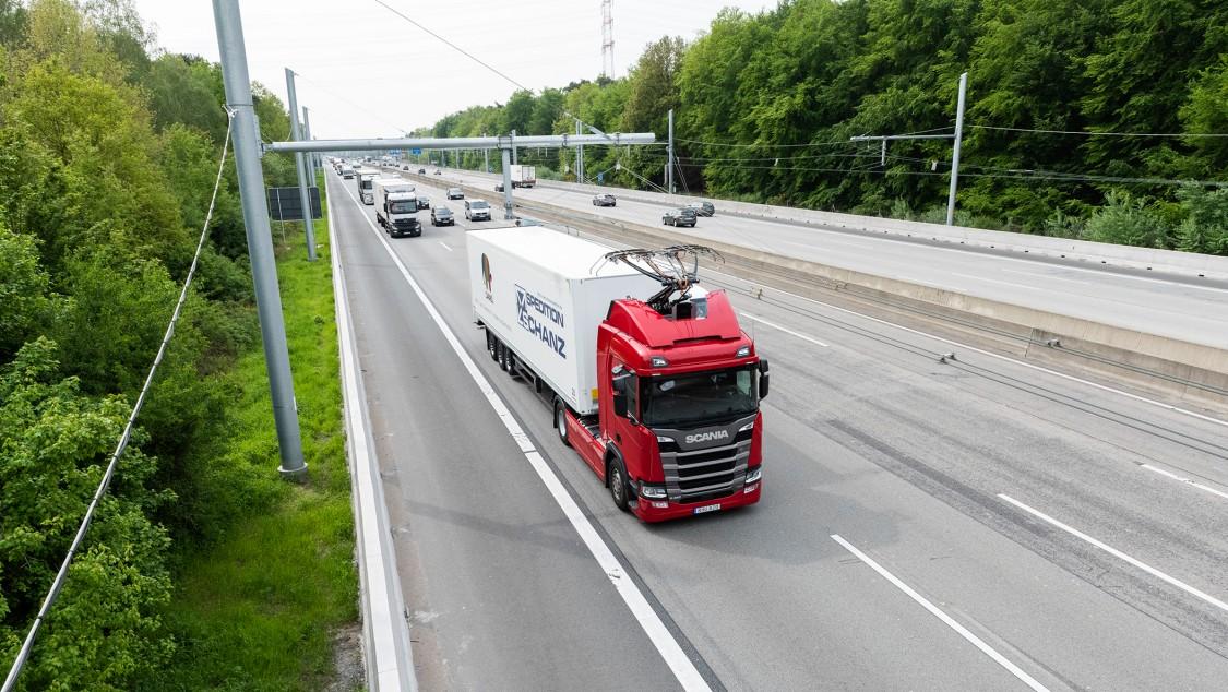Primeira eHighway na Alemanha