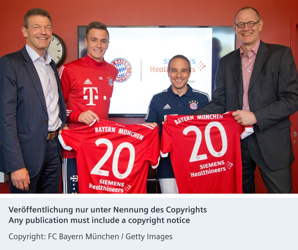Siemens Healthineers now the official medical solution partner for FC Bayern Munich