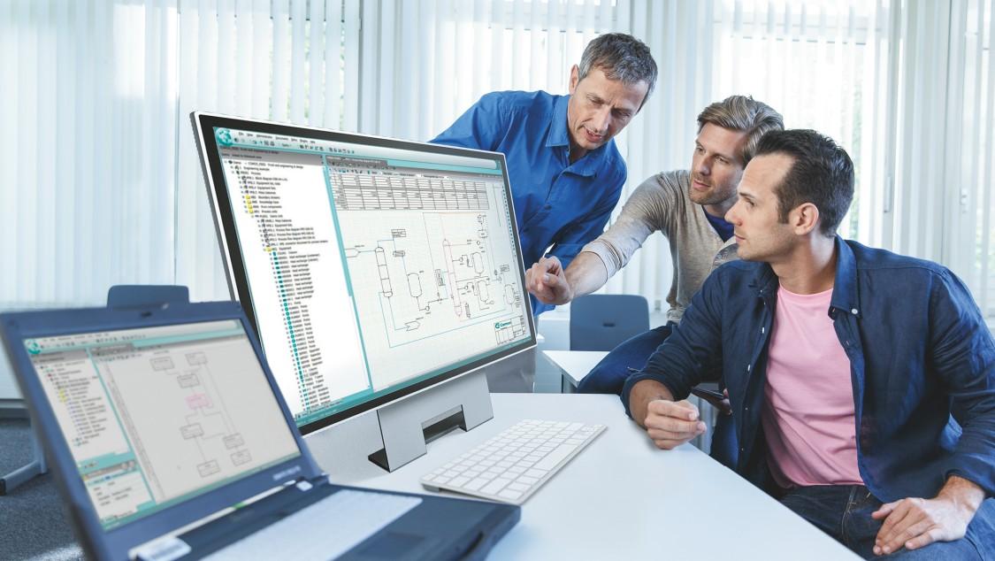 使用 COMOS,可以在工艺设计阶段对工厂进行合理规划