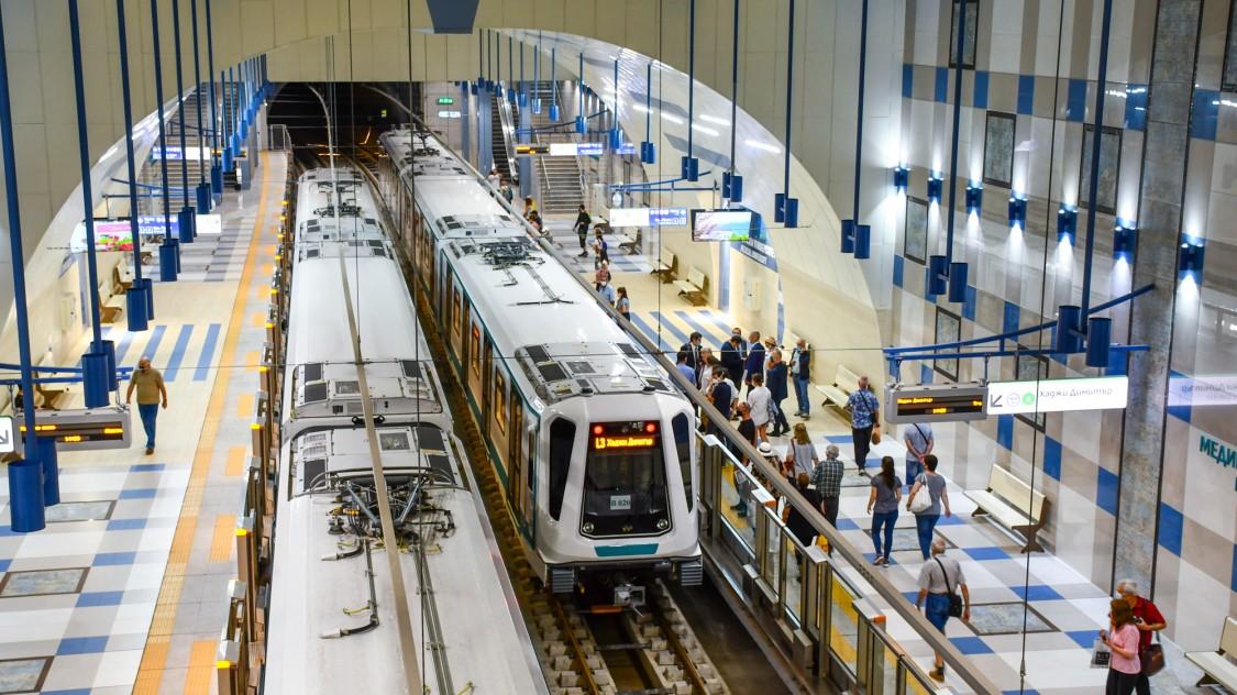 Metro-Linie 3, Sofia, Bulgarien – mit Trainguard MT für CBCT