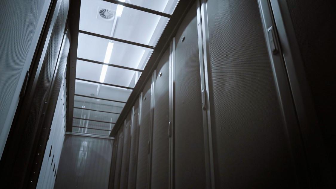 InterXion Rechenzentrum in Wien, Österreich
