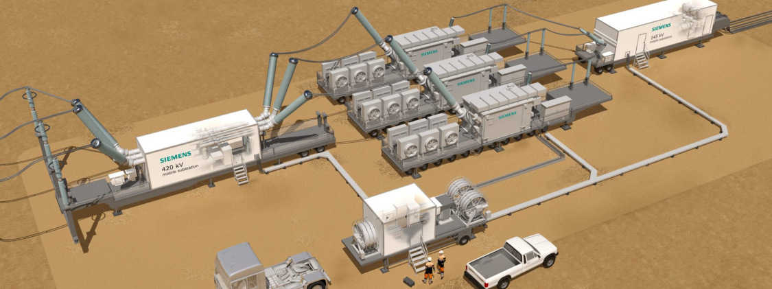 Siemens will help improve the resilience of the Saudi Arabian power grid