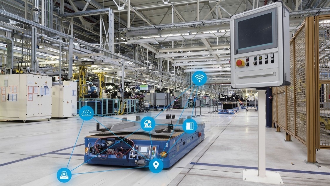 Industrial 5G for autonomous logistics