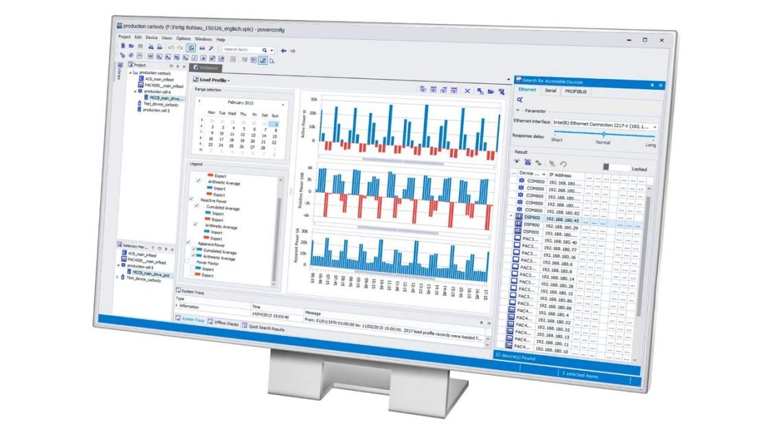 Распределение электроэнергии в TIA Portal