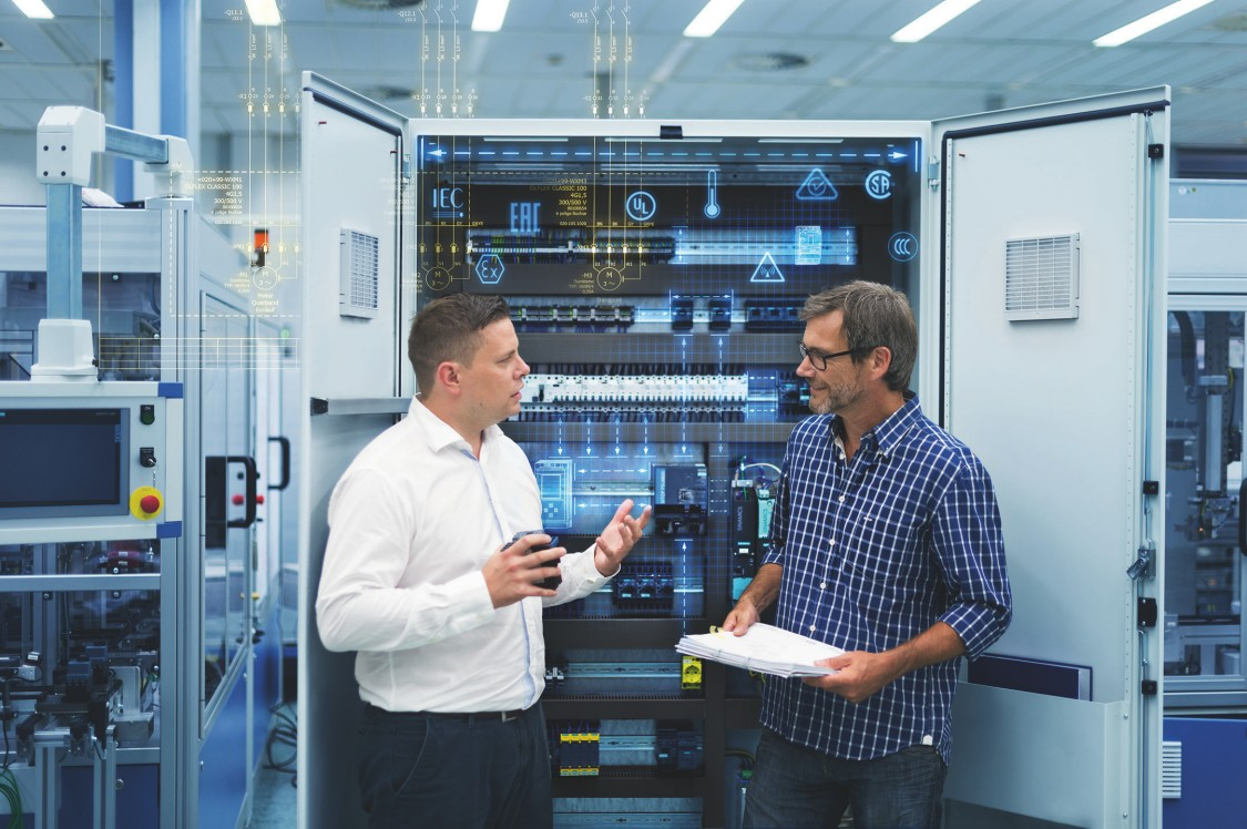 Industrial control panel standards and design support