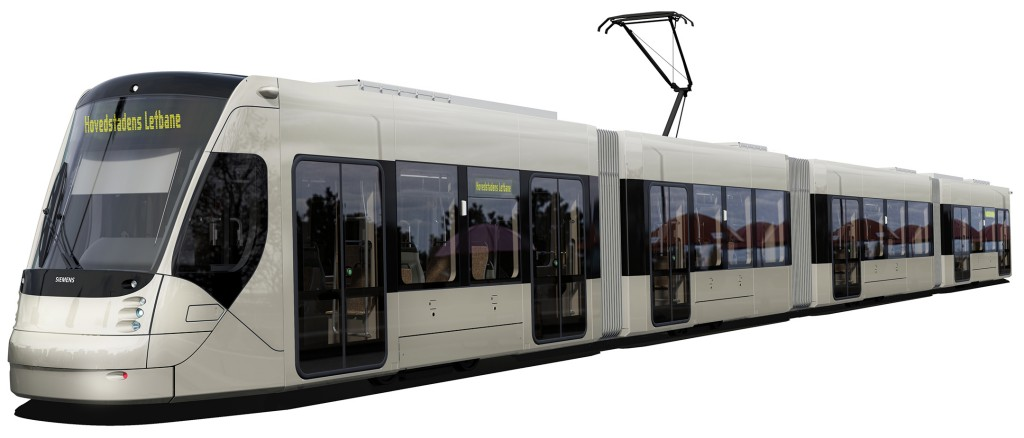Avenio Straßenbahnsystem für den Großraum Kopenhagen