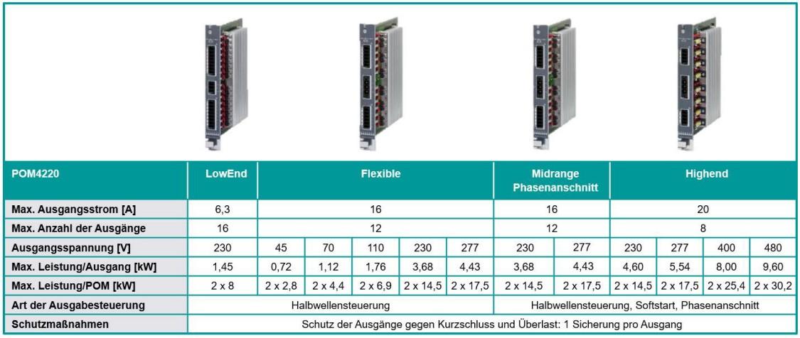 SIPLUS HCS 4200 Technische Daten POM4220
