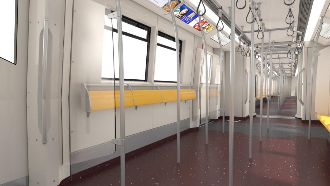 Bangkok Green Line metro interior design