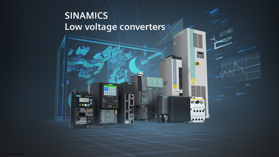 Key Visual SINAMICS Low Voltage Converters