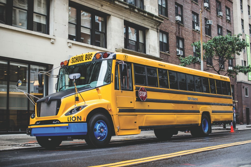 Lion Electric Co. (Lion) manufactures zero-emission school buses, minibuses and urban trucks.