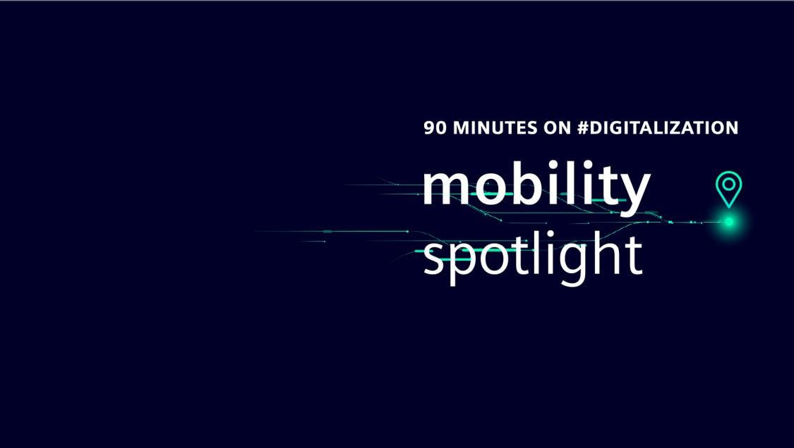 Mobility Spotlight Virutal event